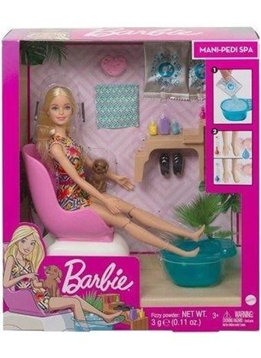 Barbie Ghn07 Barbie® Sağlıklı Tırnak Bakımı Oyun Seti Renkli
